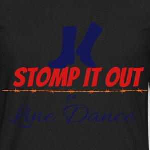 Line dance - Stomp it out Women's T-Shirts - Men's Premium Long Sleeve T-Shirt
