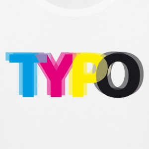 Typo Women's T-Shirts - Men's Premium Tank