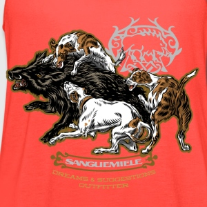 wild_boar_and_hounds T-Shirts - Women's Flowy Tank Top by Bella