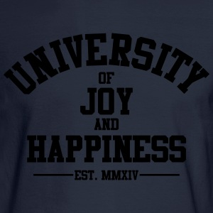 University of Joy and Happiness - Men's Long Sleeve T-Shirt