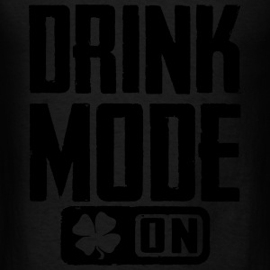 Drink Mode On Long Sleeve Shirts - Men's T-Shirt