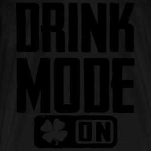 Drink Mode On Long Sleeve Shirts - Men's Premium T-Shirt