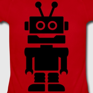 Robot Kids' Shirts - Short Sleeve Baby Bodysuit