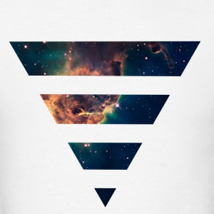 Galaxy Triangle Hoodies - Men's T-Shirt