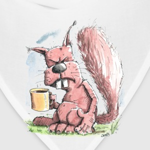 Monday Morning Squirrel Women's T-Shirts - Bandana