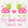 My Godmother Loves Me Kids' Shirts - Kids' T-Shirt