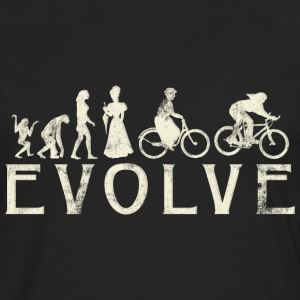 Bicycle Evolve Women's Cycling - Men's Premium Long Sleeve T-Shirt
