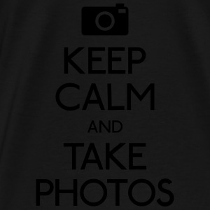 Keep Calm and take photos Bags & backpacks - Men's Premium T-Shirt