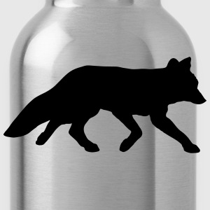 smarter clever red fox germand shepherd sheeps dog T-Shirts - Water Bottle