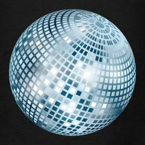 Disco Ball / Mirror Ball (Silver, PNG) Tote Bag - Men's T-Shirt