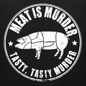 meat_is_murder T-Shirts - Men's Premium Tank