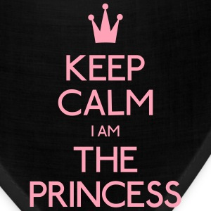 keep calm princess Kids' Shirts - Bandana