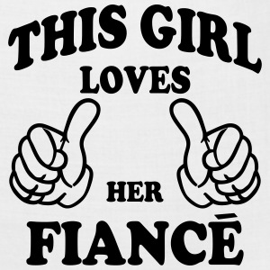 this girl loves her fiance Hoodies - Bandana