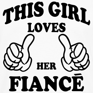 this girl loves her fiance Hoodies - Men's Premium Long Sleeve T-Shirt