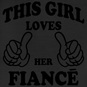 this girl loves her fiance Hoodies - Leggings