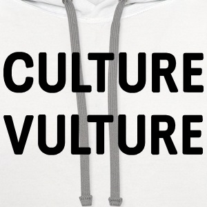 Culture Vulture T-Shirts - Contrast Hoodie