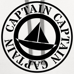 captain T-Shirts - Contrast Hoodie