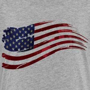 US flag vintage - Toddler Premium T-Shirt