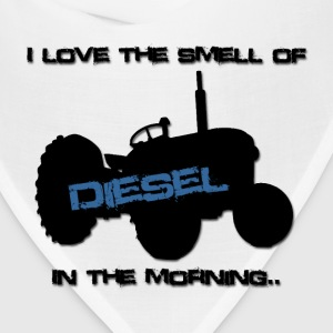 I love the smell of diesel in the morning - Bandana
