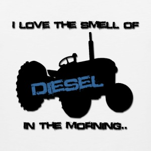 I love the smell of diesel in the morning - Men's Premium Tank