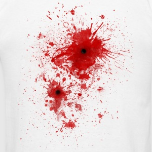 Blood spatter / bullet wound - Costume  Polo Shirts - Men's T-Shirt