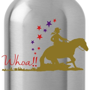 Cowgirl - Western riding Hoodies - Water Bottle