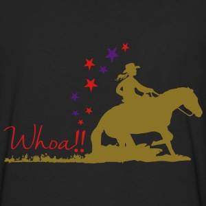 Cowgirl - Western riding Hoodies - Men's Premium Long Sleeve T-Shirt