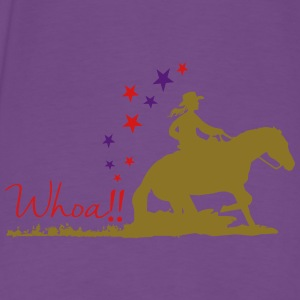 Cowgirl - Western riding Hoodies - Men's Premium T-Shirt