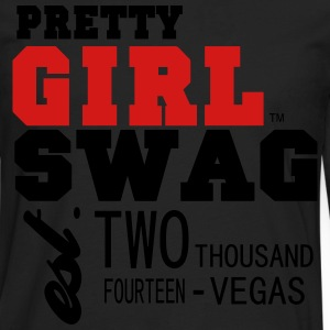 PRETTY GIRL SWAG- 2014 VEGAS - Men's Premium Long Sleeve T-Shirt
