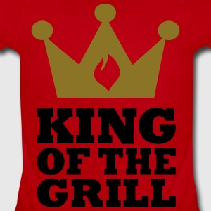 King of the Grill Kids' Shirts - Short Sleeve Baby Bodysuit