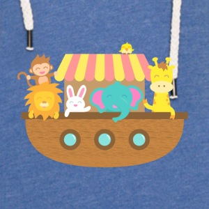 Noah Ark, Cute Animals, for Kids Baby & Toddler Shirts - Unisex Lightweight Terry Hoodie