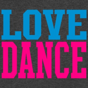 Love Dance Dual Color Long Sleeve Shirts - Men's V-Neck T-Shirt by Canvas
