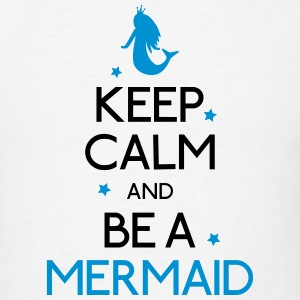 keep calm mermaid Hoodies - Men's T-Shirt