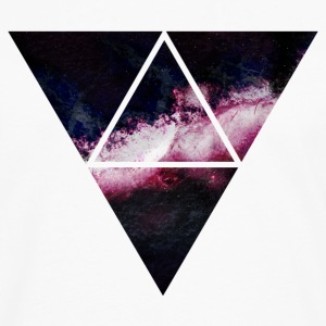 triangle galaxy Hoodies - Men's Premium Long Sleeve T-Shirt