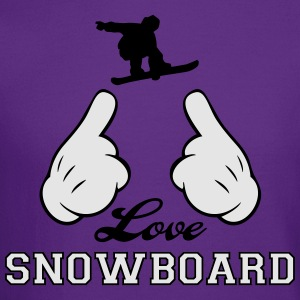 Love Snowboard Hoodies - Crewneck Sweatshirt