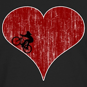 Bicycle Love Women's Cycling - Men's Premium Long Sleeve T-Shirt