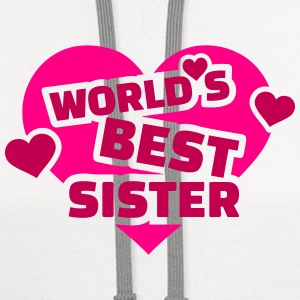 World's best sister T-Shirts - Contrast Hoodie