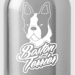 boston_terrier Women's T-Shirts - Water Bottle