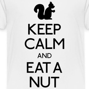 keep calm squirrel  Kids' Shirts - Toddler Premium T-Shirt