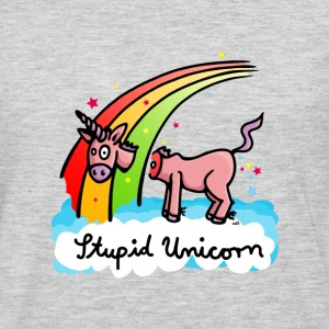 The stupid unicorn loses his head T-Shirts - Men's Premium Long Sleeve T-Shirt
