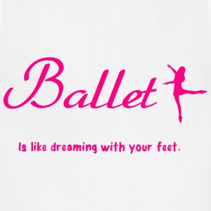 Ballet Women's T-Shirts - Adjustable Apron
