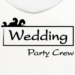 Wedding Party Crew Long Sleeve Shirts - Contrast Hoodie