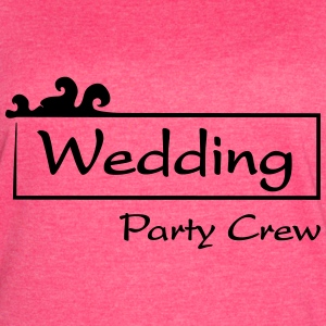 Wedding Party Crew Tanks - Women's Vintage Sport T-Shirt