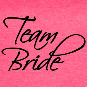 Team Bride Tanks - Women's Vintage Sport T-Shirt