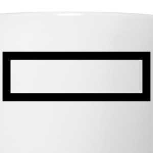 Rectangle T-Shirts - Coffee/Tea Mug