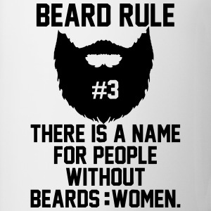 Beard Rules T-Shirts - Coffee/Tea Mug