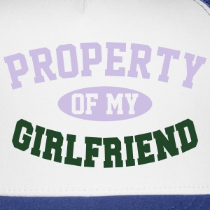 PROPERTY OF MY GIRLFRIEND Polo Shirts - Trucker Cap