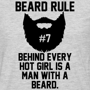 Beard Rules T-Shirts - Men's Premium Long Sleeve T-Shirt