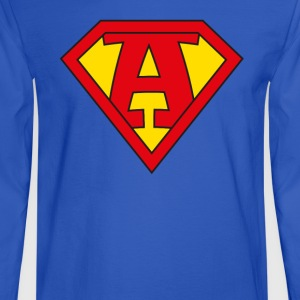 super a T-Shirts - Men's Long Sleeve T-Shirt