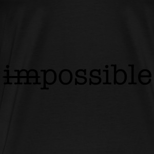 Impossible / Possible Bags & backpacks - Men's Premium T-Shirt